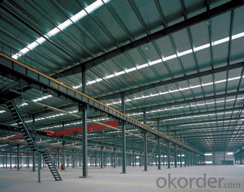 Prefabricated Industrial Steel Structure Warehouses