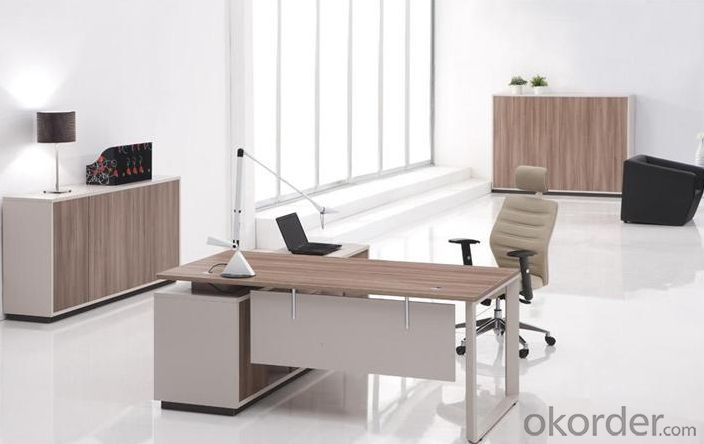 Office Furniture Desk with Fashion Top Design