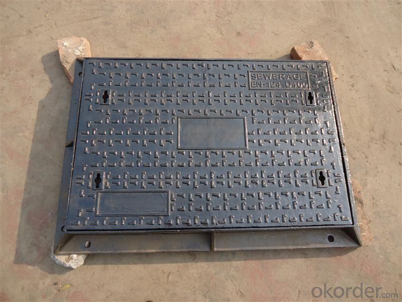 Manhole Cover - EN124 Ductile Cast Iron Grey Iron