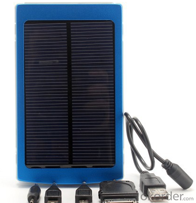 Solar Charger with 10000MAH Capacity and Aluminum Alloy Shell
