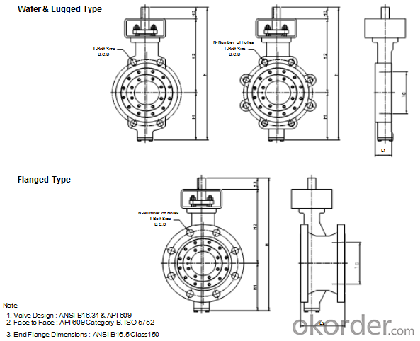 Butterfly Valve DN350 Turbine Type BS Standard Hand Wheel