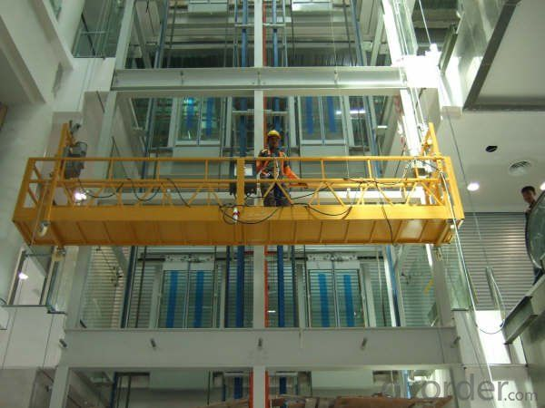 ZLP500 11 KW Motor Power 500 kg Lightweight Suspended Working Platform