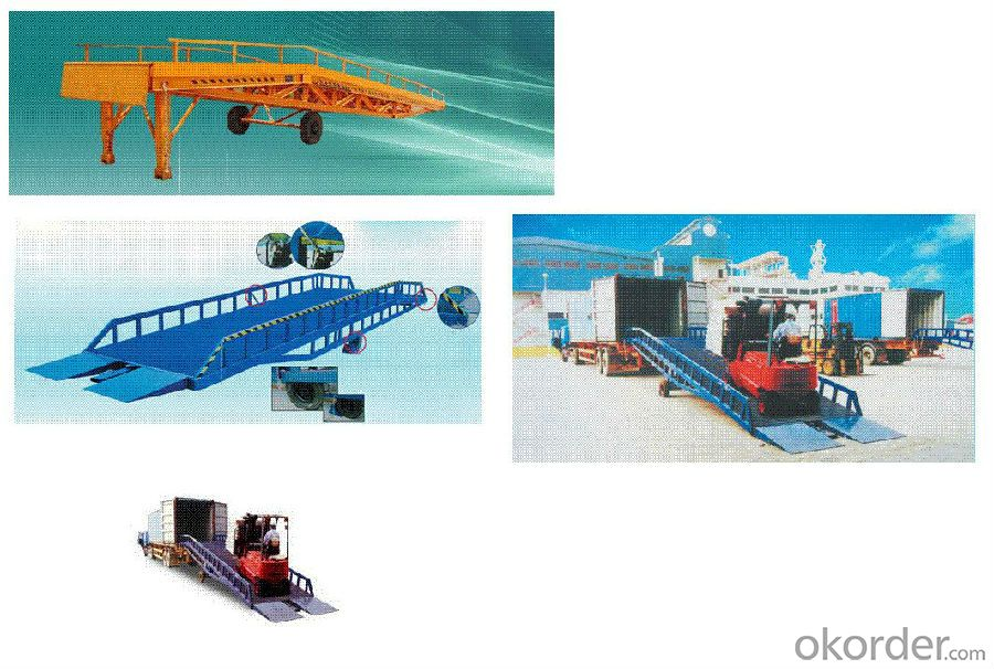 1 - 1.8 m DCQY 8 - 0.8 Manual Mobile Loading Hydraulic Dock Leveler