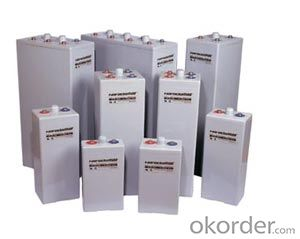 Gel Technology Battery Ares(OPzV) Series  6OPzV 600