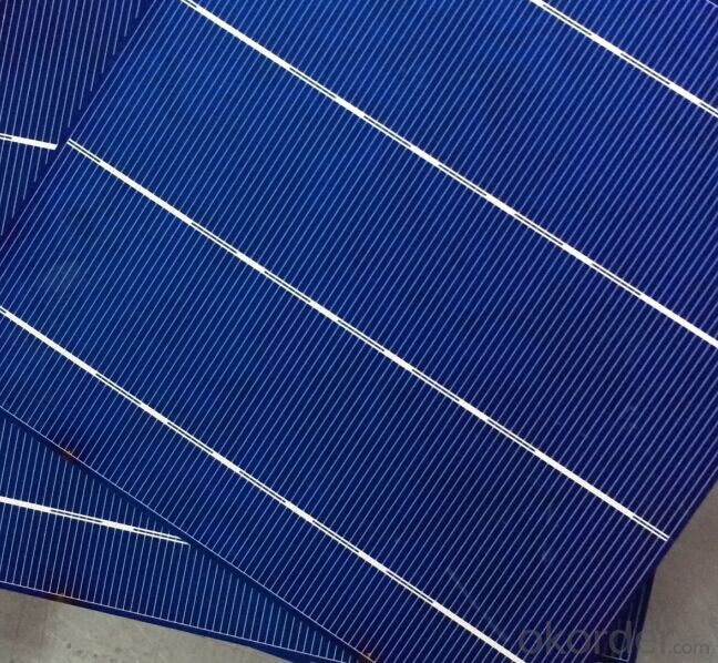 Poly Solar Cell 4BB Bus Bar B Grade With Low Price