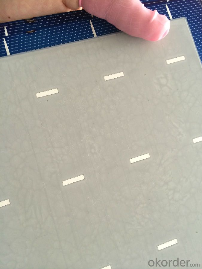 Poly Solar Cells B Grade with Low Price 3BB 4BB