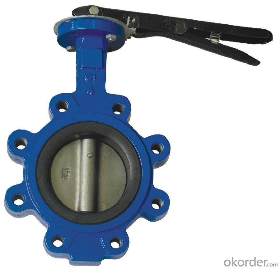 Butterfly Valve DN400 Turbine Type Britain Standard Low Price