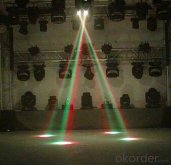 Led move head beam light