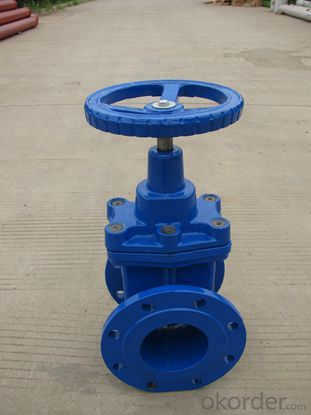 hydraulic actuator ductile iron butterfly valve DN50-2400