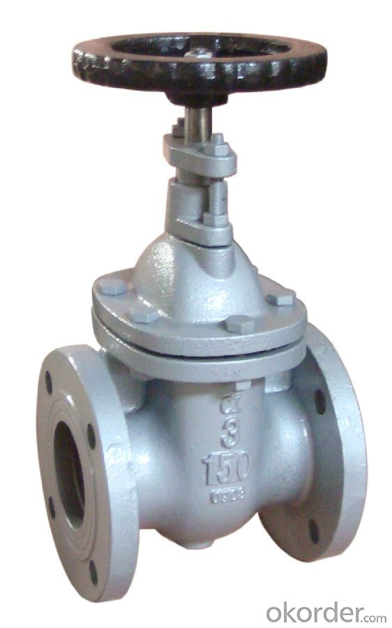 Gate Valve Non-rising Resilient Ductile Iron BS5163