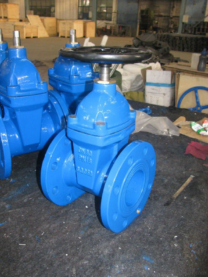 DUCTILE IRON GATE VALVE design and manufacture
