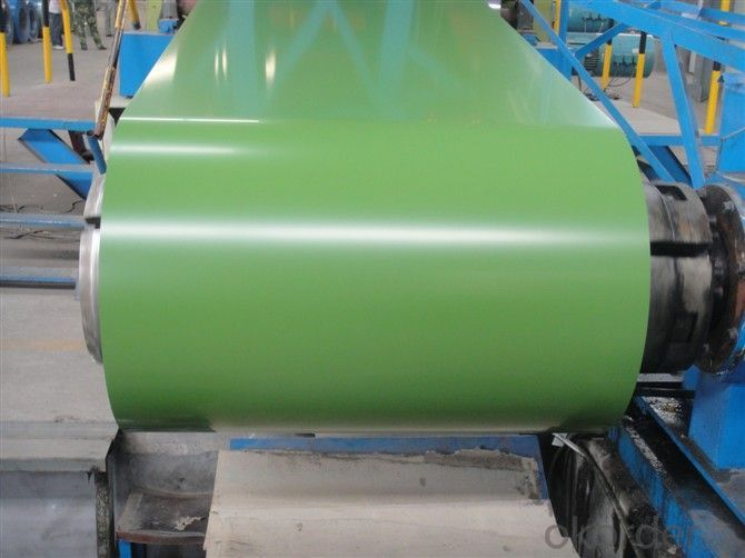 Prepainted Galvanized Steel Coil Qualified-DX51D+Z