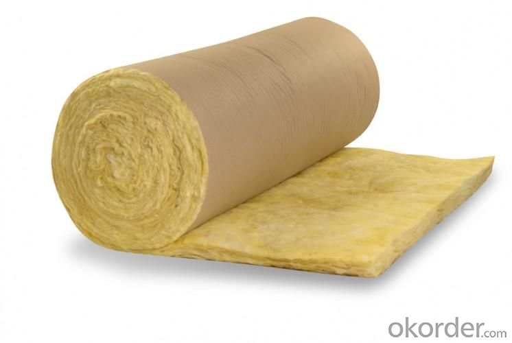High performance fiber glass wool blanket waterproof thermal insulation