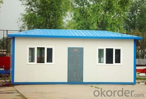 Prefabricated House Decorative Sandwich Panel One Bedroom Small Prefab Houses