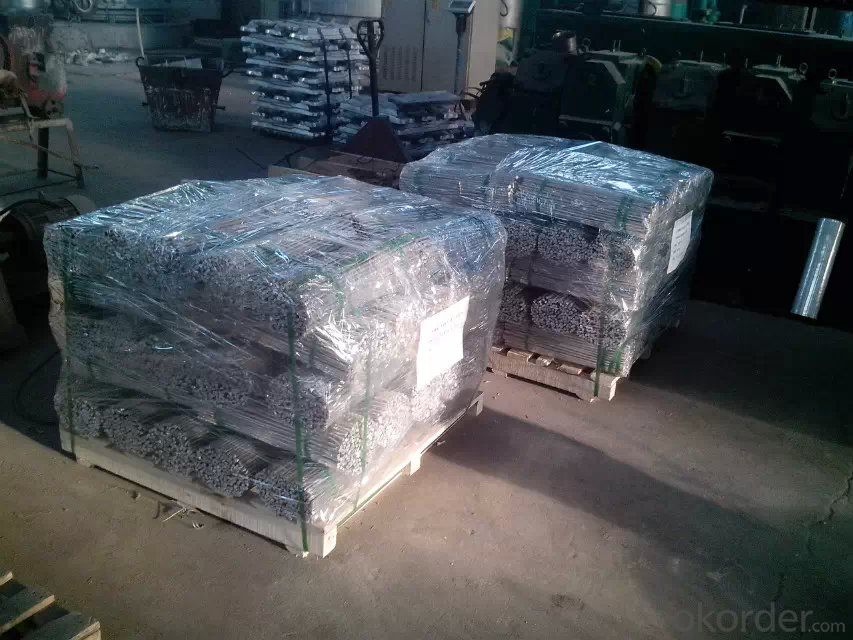Aluminum Master Alloys AlSr10 AlSr15 Sticks