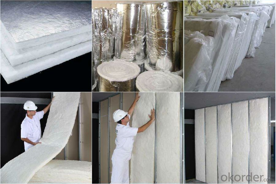 Best Price Fiber Glass Wool Tube Insulation 50mm 70kg/m3