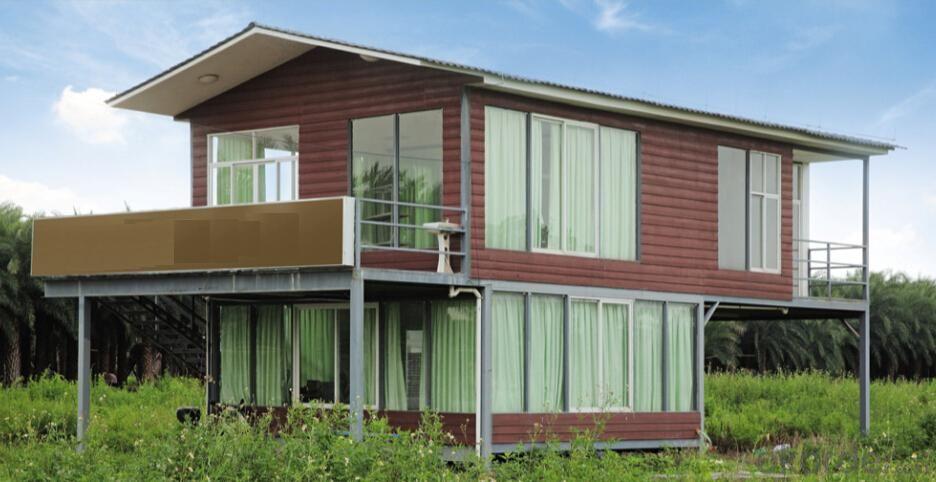 PU, Glass Wool,EPS Quick Built Sandwich Panel Cheap Prefab Houses