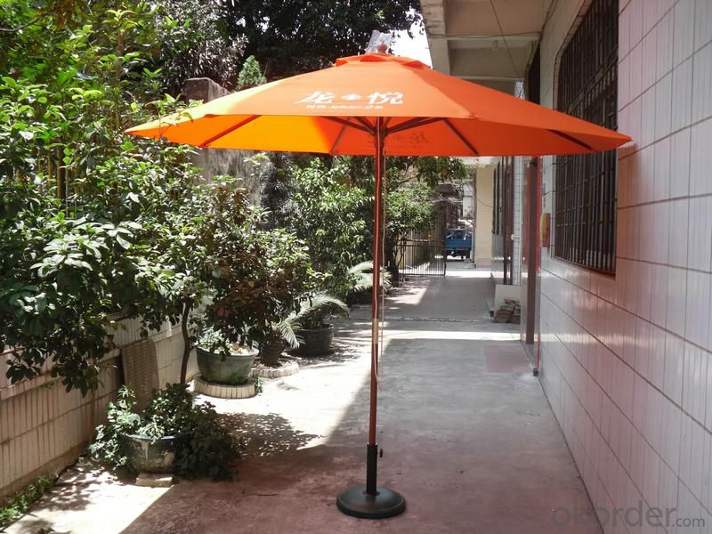 High Quality Wooden Outdoor Umbrella Big Roma Type