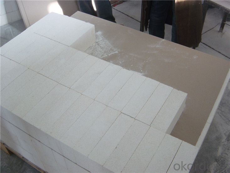 Light weight fire clay for  insulating fire brick use