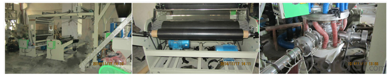 Three And  Five Layers Co-Extrusion Film Blowing Machine , Plastic Blowing Machine