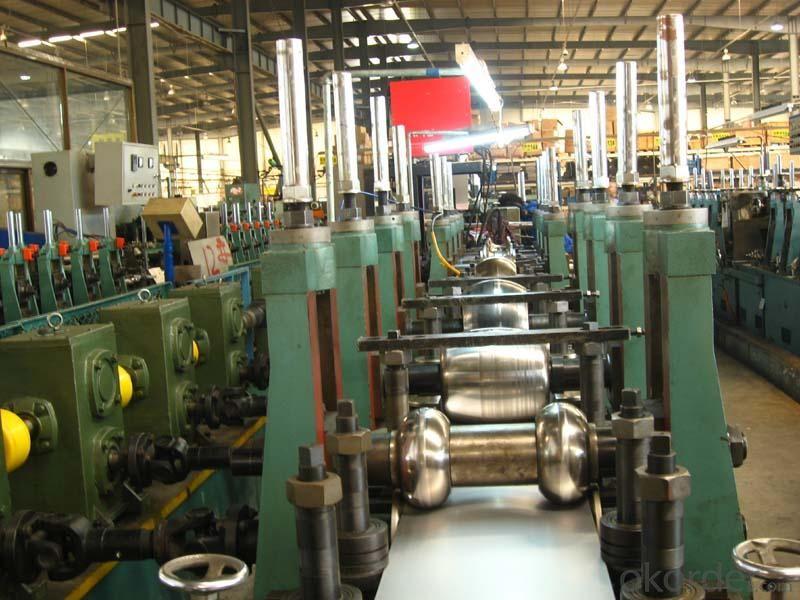 straight seam welded pipeflat head chamfering machine