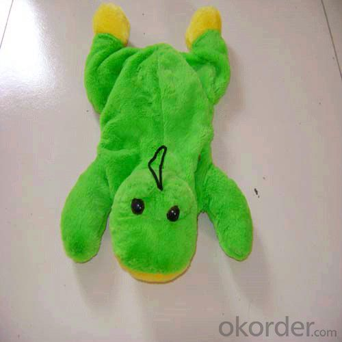 Lovely Cartoon Hot Water Bottle with Cover 2000ml 2 Side Rip