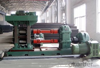 spiral welded pipe mill line roll forming machine