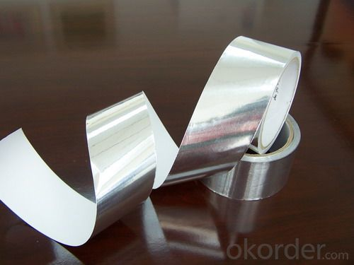 Foil-Scrim-Kraft Tapes, Double-Sided Reflective Aluminum Foil Insulation Aluminum Foil Tapes
