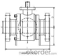High-performace pipeline ball valve 2500 Class