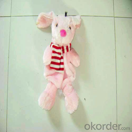 Animal Shape Hot Water Bottle with Cover 2000ml 2 Side Rip
