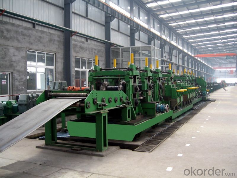 Steel Φ219 Φ711 CFOE mill roll forming machine