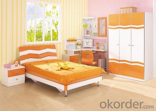 Child Bed Room Furniture, Kids Indoor Trampoline Bed, Children Bedroom Furniture
