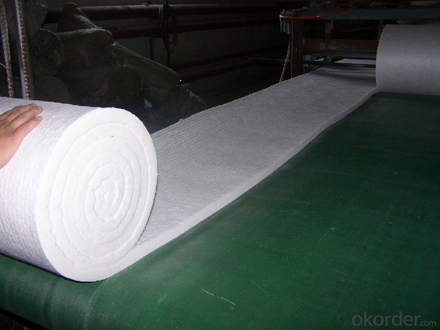 High Pure Heat Insulation Ceramic Fiber Blanket DZ
