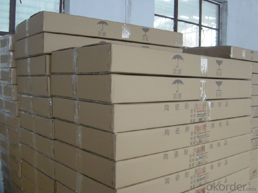 High Pure Heat Insulation Ceramic Fiber Board HP