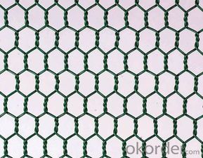 Hexagonal Wire Mesh Galvanized and PVC Coated with Good Quality