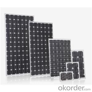 Monocrystalline Silicon Solar Modules/Panel