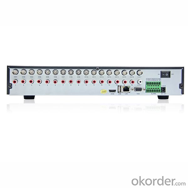 Standalone CCTV DVR Digital Video Recorder with HI3531 Chipset