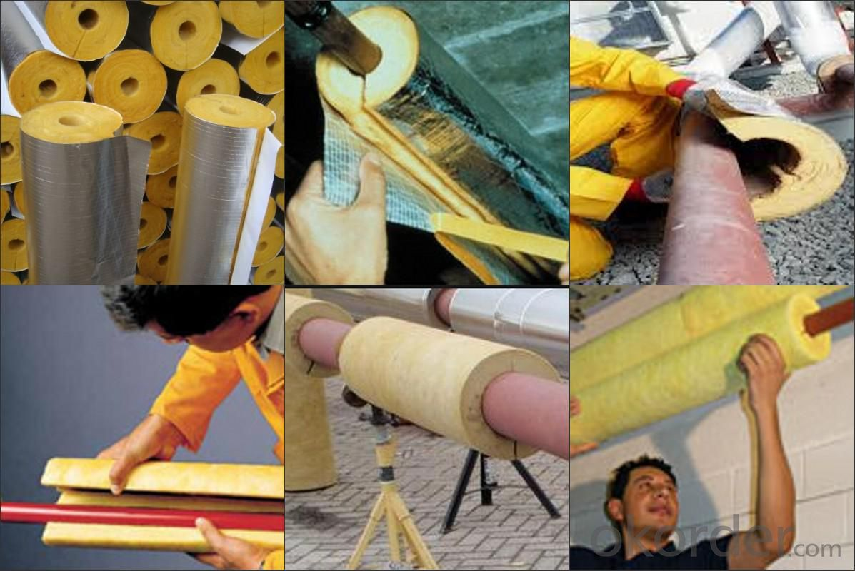 Glass Blanket Glass Wool Glass Wool Building Materials With CE