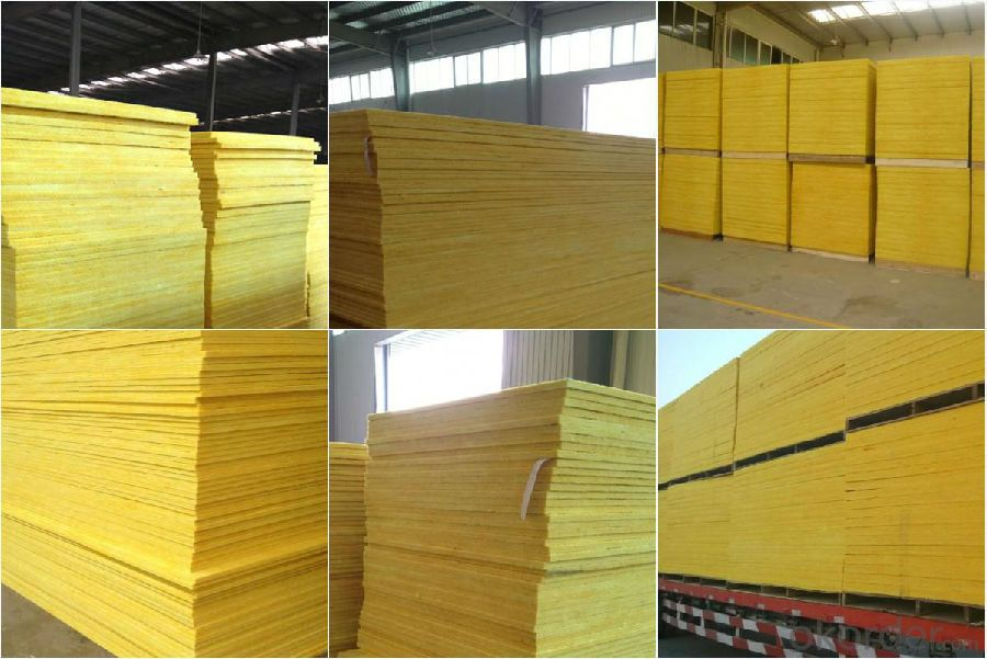 Buy glass wool blanket waterproof thermal insulation price for Glass fiber board insulation