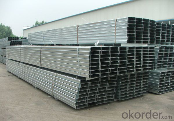 Galvanized C - Shaped Steel with Good Quality