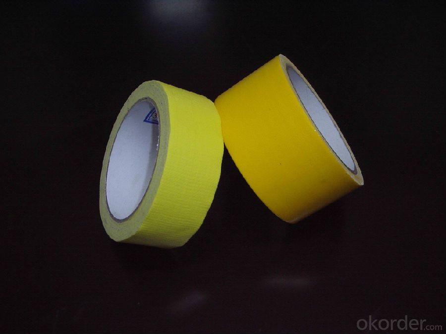 Cloth Duct Tape Non-woven Artificial Grass Seaming Adhesive Tape