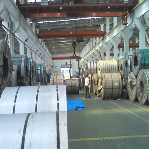 Stainless Steel Coil 304 BA/2B Surface Max1200mm in Mills