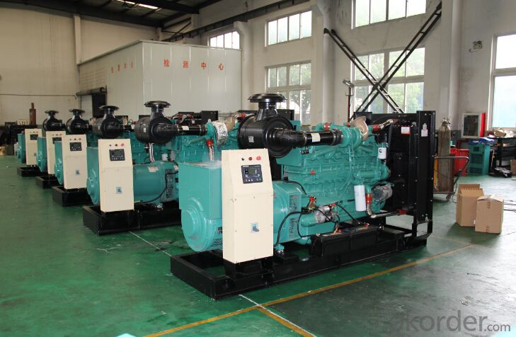 300KW Cumins Diesel Generating Set NTA855-G1A