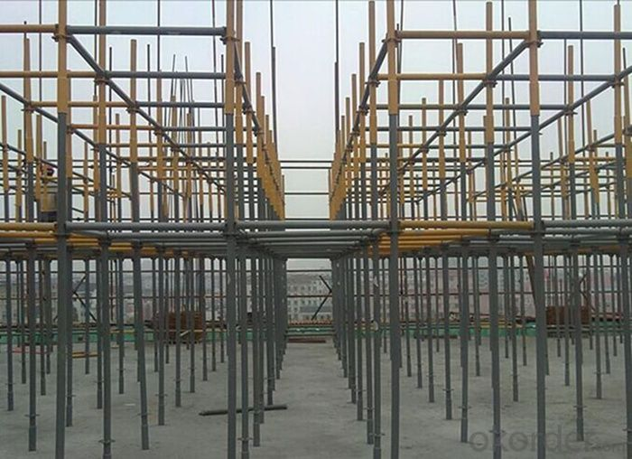 Hot Galvanized Ringlock Scaffolding System with High Load Capacity