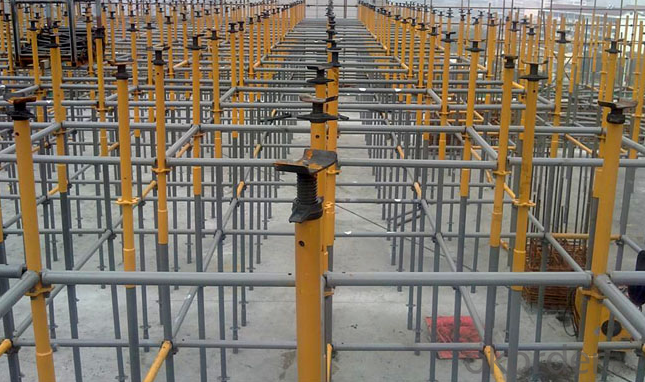 Hot Galvanized Ringlock Scaffolding System in Q235