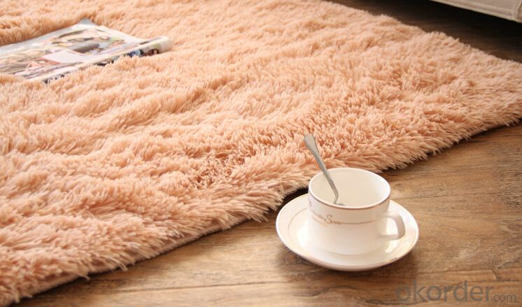 Carpet 100% Polyester Long Pile Shaggy Carpet Cheap Rugs and Carpets
