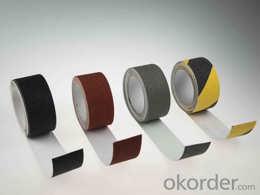 Anti-slip Tape with PVC and PP Carrier Material