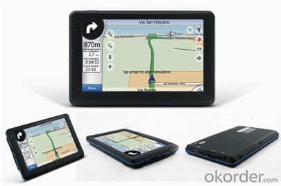 Best Sell 5 inch GPS Navigation SiRF Atlas-V 800mhz