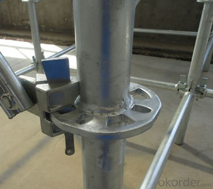 Galvanized Ringlock Scaffolding System for Commercial Buildings