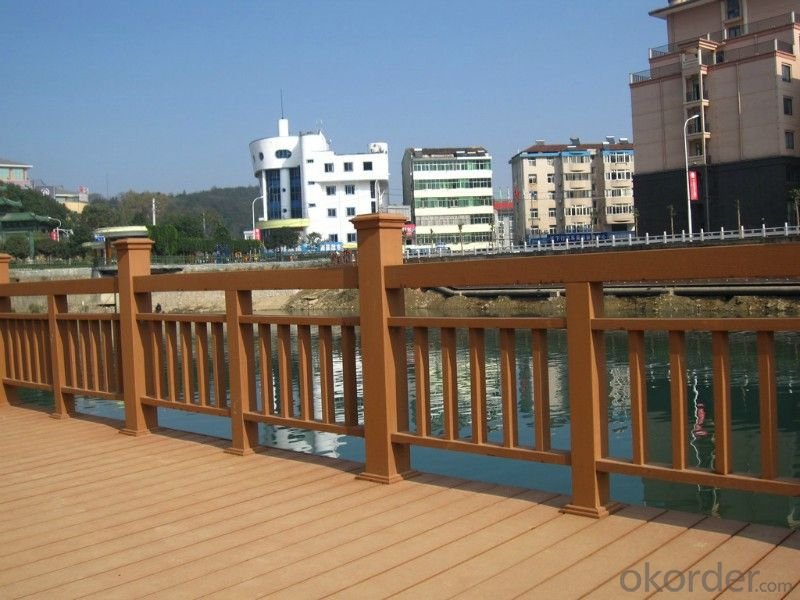 WPC Decking Wood Plastic Composite Anti-water, Anti-insect, Military Equipment